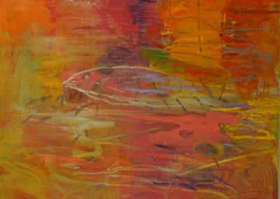 Memory - oil on linen 6'x6'
