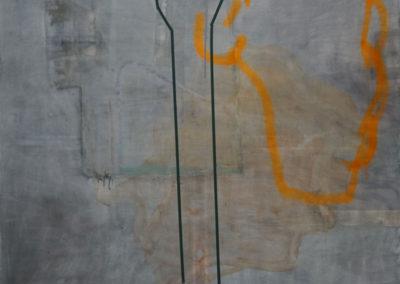Tideway - oil on linen 6'x6'