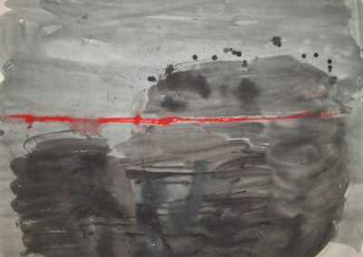 "Unititled - watercolour 60""x48"""