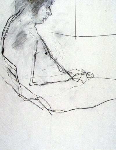 Figure pencil on paper