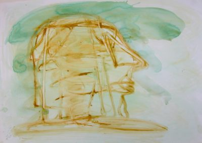 Head Tideway - watercolour on paper 42x59cm