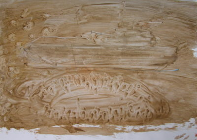 Tideway - watercolour on paper 42x59cm