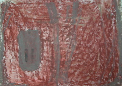 "Rannoch - oil pastel on paper 17""x24"""