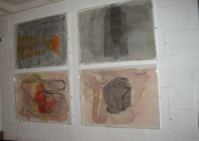 "Place - watercolours 22""x30"""