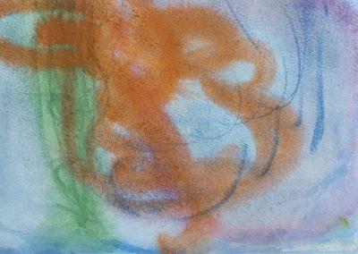 "Croatia - watercolour on paper 8"" x 6"""