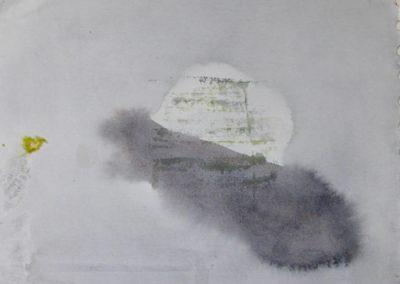 Tideway - watercolour on paper 8x8
